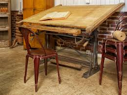 le de bureau architecte la table d architecte vintage drafting table and desks