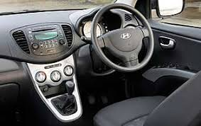 Hyundai Getz Interior Pictures Car Reviews Hyundai I10 1 1 Classic The Aa