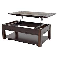 Caster Coffee Table Roanoke Lift Top Coffee Table W Casters El Dorado Furniture