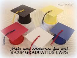 practips diy k cup graduation caps