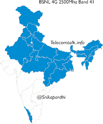 Consumer Cellular Coverage Map Pan India 4g Maps Of Telecom Operators Across Various Bands
