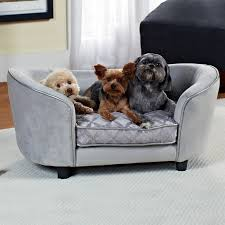 Doggie Beds Bowsers Diamond Series Microvelvet Double Donut Dog Bed Hayneedle
