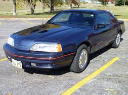 1992 Ford Thunderbird 1000 Images About 1987 1988 Thunderbird Turbo Coupe On Pinterest