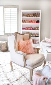 Fluffy Armchair Home Office Makeover Hello Fashion