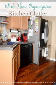 How To Organize Your Kitchen Counter Whole Home Organization Kitchen Clutter Sweet Tea U0026 Saving Grace