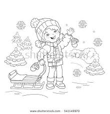 cute winter coloring pages winter coloring pages for preschool cute snowman print coloring