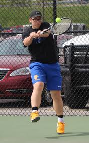 the courier prep boys tennis findlay u0027s giedeman is a whole new man