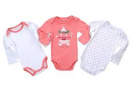 fashion baby clothing set newborn 3 pieces lot printed