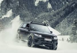land rover snow jaguar land rover unveils spectre movie cars in frankfurt