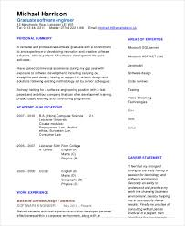 software engineer resume experience resume sle for software engineer krida info