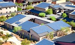 solar panels on houses gigaom special report how the rise of a mega solar panel farm