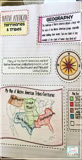 Map Of Native American Tribes 230 Best 5th Grade Activities Images On Pinterest Interactive