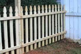 diy picket fence u2013 simplir me