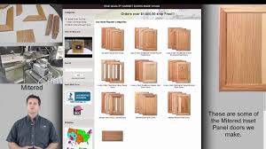 how to buy kitchen cabinet doors online youtube
