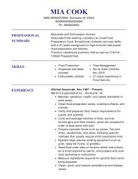 blue apron kitchen associate resume sample jersey city new