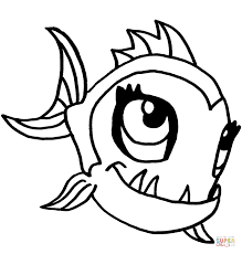 monster neptuna coloring free printable coloring pages