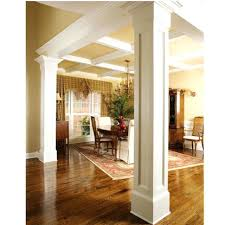 fake columns for decor 4 ways to get storage out of a support wall