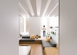 micro living tiny italian apartment does double duty