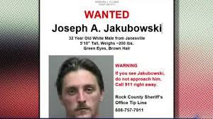 massive manhunt underway in wisconsin to find man who allegedly