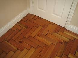 cheap laminated wooden flooring application in zigzag application