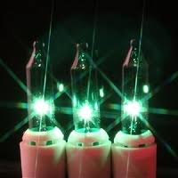 green mini lights for crafts one single