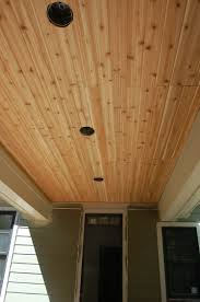 plywood beadboard porch ceiling