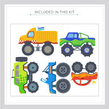 wall decal awesome monster truck wall decals ideas monster truck