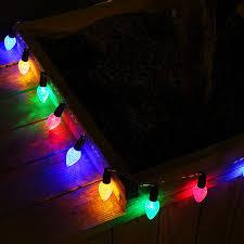 Blue Led String Lights by 7 22ft 20 Led Strawberry String Lights 2700k Soft White Battery