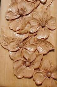 wood carving flower patterns inkra