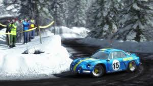 renault alpine a110 rally dirt rally pc route de turini monte carlo in the renault