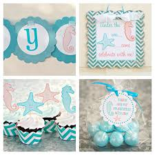 the sea party ideas the sea girl 2nd birthday party planning ideas