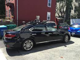 lexus of kendall was that black lexus in kendall square a self driving car the