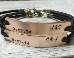 his and hers engraved bracelets bronze infinity bracelet friendship bracelet wholesale quality