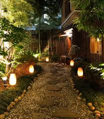 Outdoor Landscape Light Your Path Using Landscape Lighting To Define Outdoor Spaces