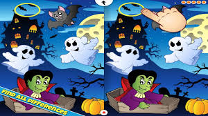 halloween scene clipart halloween find the difference android apps on google play