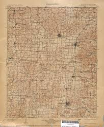 Show Me A Map Of Arkansas Missouri Historical Topographic Maps Perry Castañeda Map