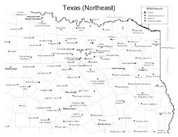 Texas Map Cities Learn To Fly Texas Airports
