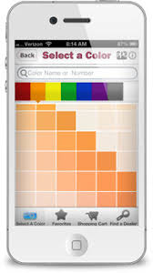 mobile app from ppg porter paints
