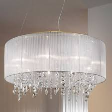 crystal chandelier table lamp with drum shade roselawnlutheran