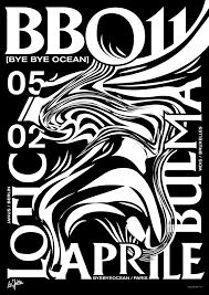 bye bye ocean n 11 poster studio jimbo paris 2016 graphic