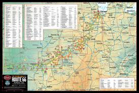 Maps Route by Historic Route 66 U2013 Butler Motorcycle Maps