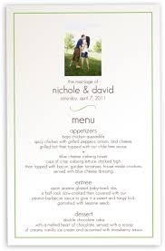 Wedding Invitations With Menu Cards Photo Wedding Menu Cards Menu Card Custom Design For Wedding