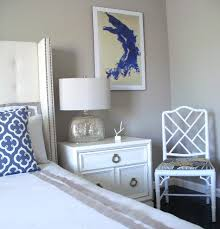 hollywood regency nightstand bedroom transitional with neutral