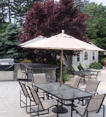 Images Of Square Garden Furniture - exterior beige target patio umbrellas with wrought iron patio