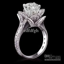 engagement rings flower images 2018 5 carat diamonds flower shape engagement ring gold new from jpg