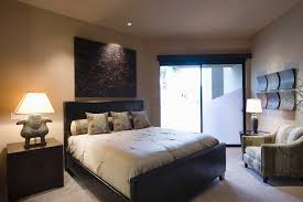 zen bedroom with earth tone color theme propertylogy