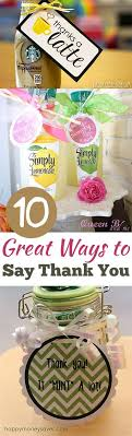 best 25 thank you gifts ideas on presents for