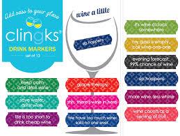 clingks drink markers like fine wine