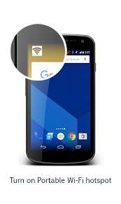 mobile hotspot apk portable wi fi hotspot apk for android