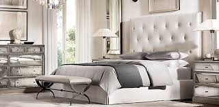 Bed And Nightstand Bedroom Collections Rh